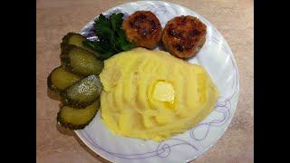 Картофельное пюре. Мамулины рецепты