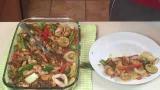 Cwr Ep 3 Chicken And Shrimp Fajitas