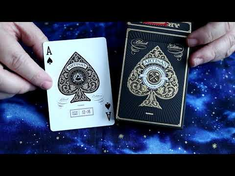 Black Artisan Deck By Theory11 Review