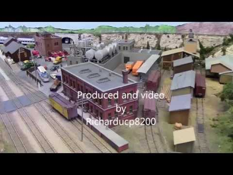 HO Layout ,Scarborough Model Railroad Club Dec 7 2014