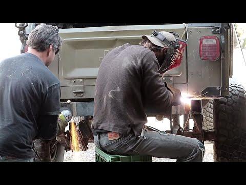 OVERLAND Jeep BUMPER Build!