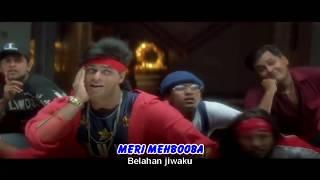 MERI MEHBOOBA - OST. PARDES (LIRIK & TERJEMAHAN)