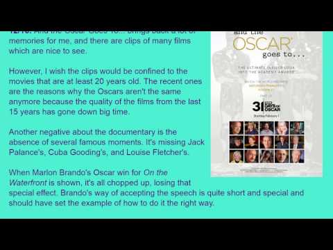 Movie Review: And the Oscar Goes to... (2014) [HD]