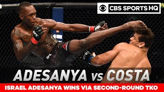 Israel Adesanya vs Paulo Costa: Adesanya retains title with TKO win | UFC 253 Recap| CBS Sports HQ