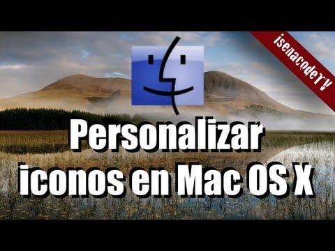  ¿Cómo cambiar iconos en Mac?