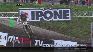 Herlings passes Paulin - MXGP of Sweden 2017