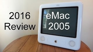 Apple eMac 2005 PowerPC G4 (2016 Review)