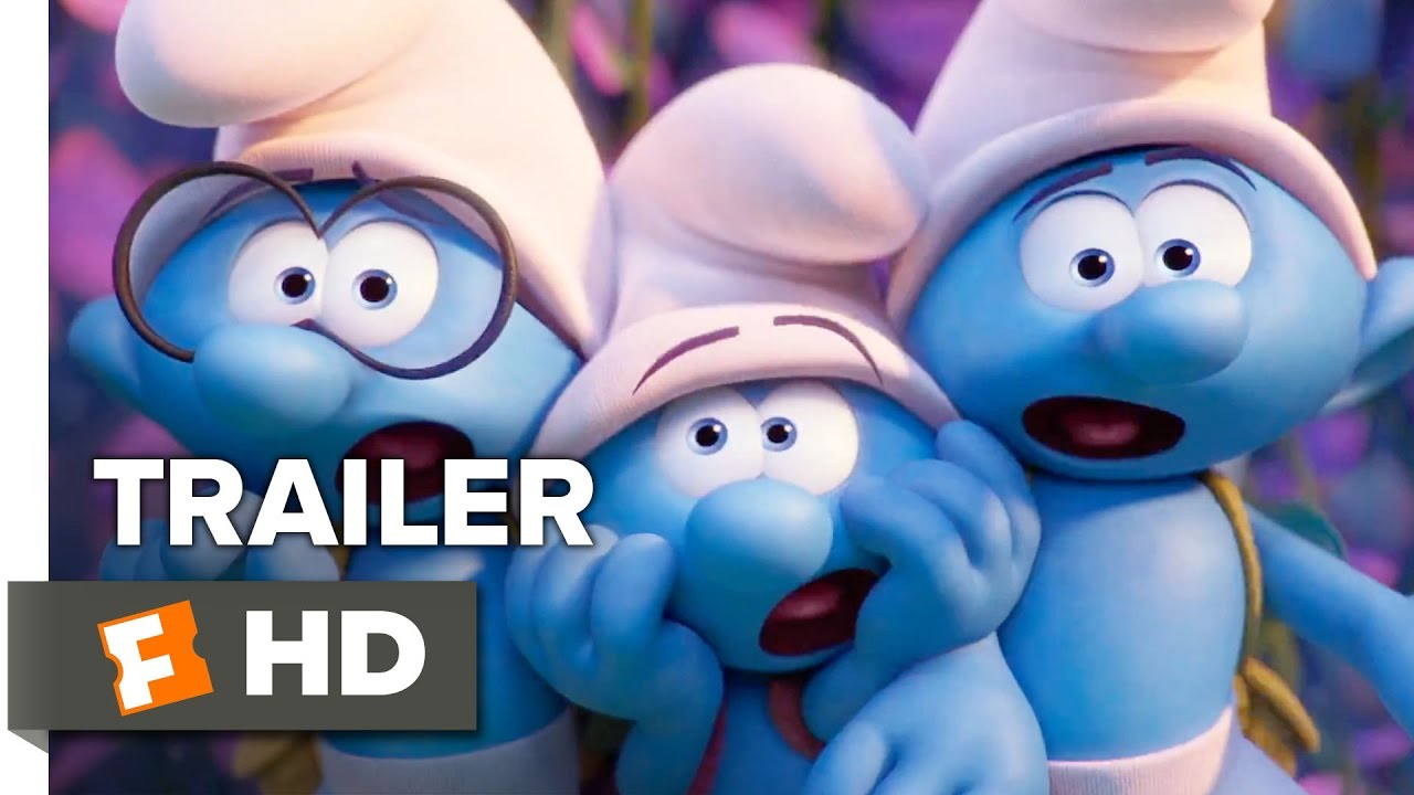 Smurfs the lost village official trailer 1 2017 animated movie youtube