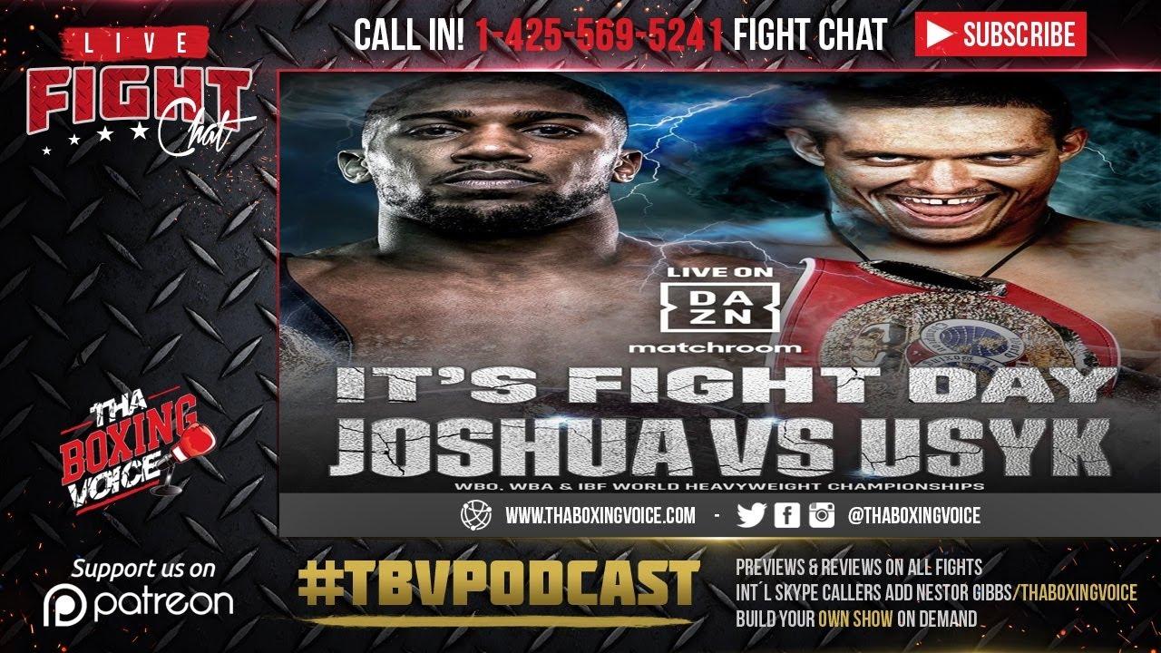 Anthony Joshua vs Oleksandr Usyk fight results: Live updates, start ...