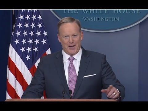 LIVE: Press Secretary Sean Spicer Full Press Conference | ABC News