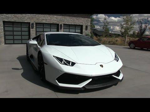 My Friend SUPERCHARGED his Lamborghini Huracan