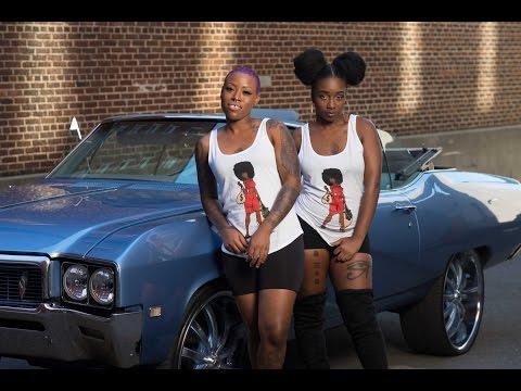 BTS Urban Fashion   Photoshoot: Destiny & Shaterra   X-T1   Godox
