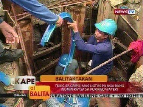 KB: Tubig mula sa water refilling stations, ligtas pa bang inumin?