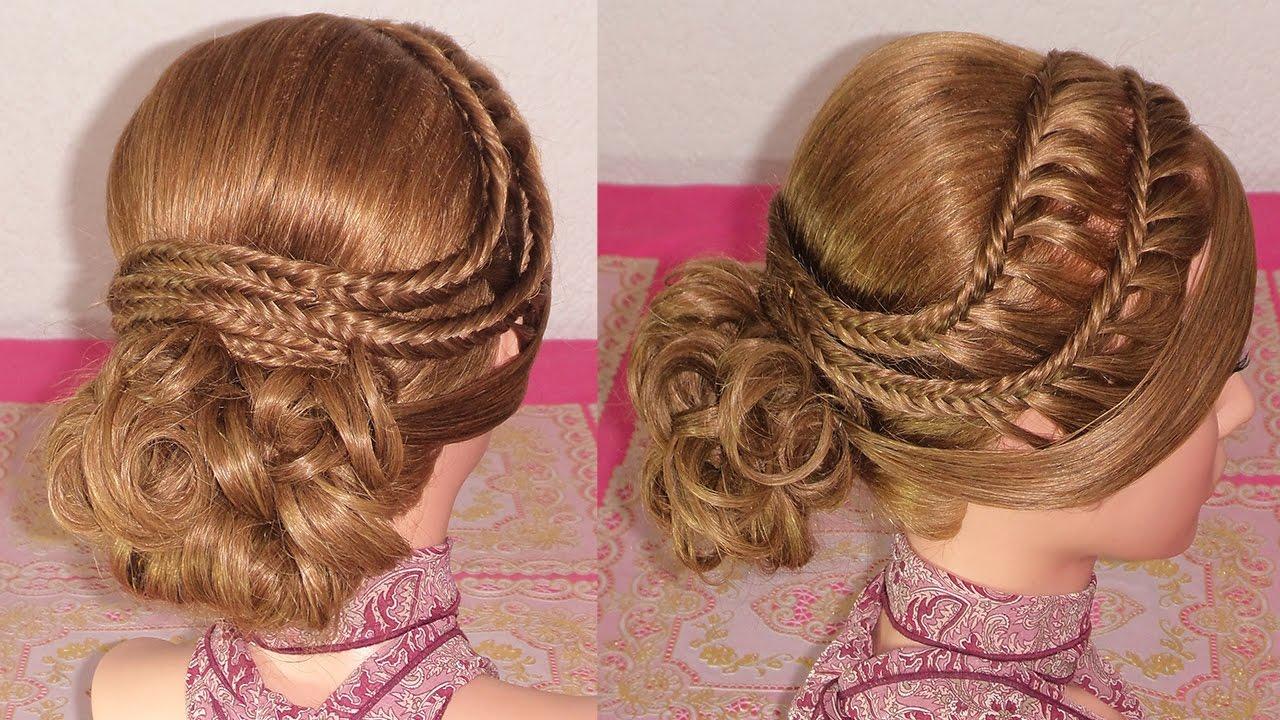 Peinados faciles y hermosos para graduacion