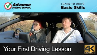 Your First Driving Lesson  |  Learning to drive: Basic skills
