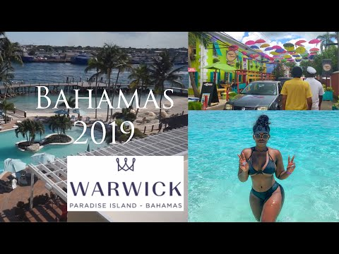 Vlog: Bahamas Getaway Paradise Island, Waterproof Wig EPIC Fail! Bahamian Food Tour, Warwick Hotel