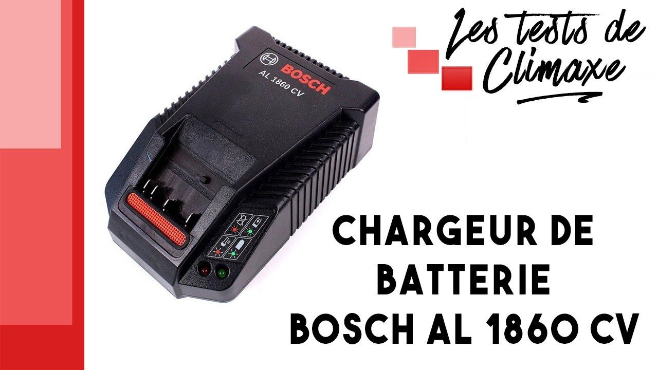 Test D Un Chargeur Rapide Lithium Ion Bosch Al 1860 Cv Video Sans La Voix Youtube