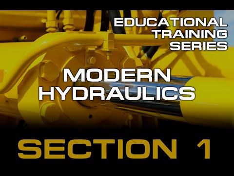 Section 1 - Modern Hydraulics Training
