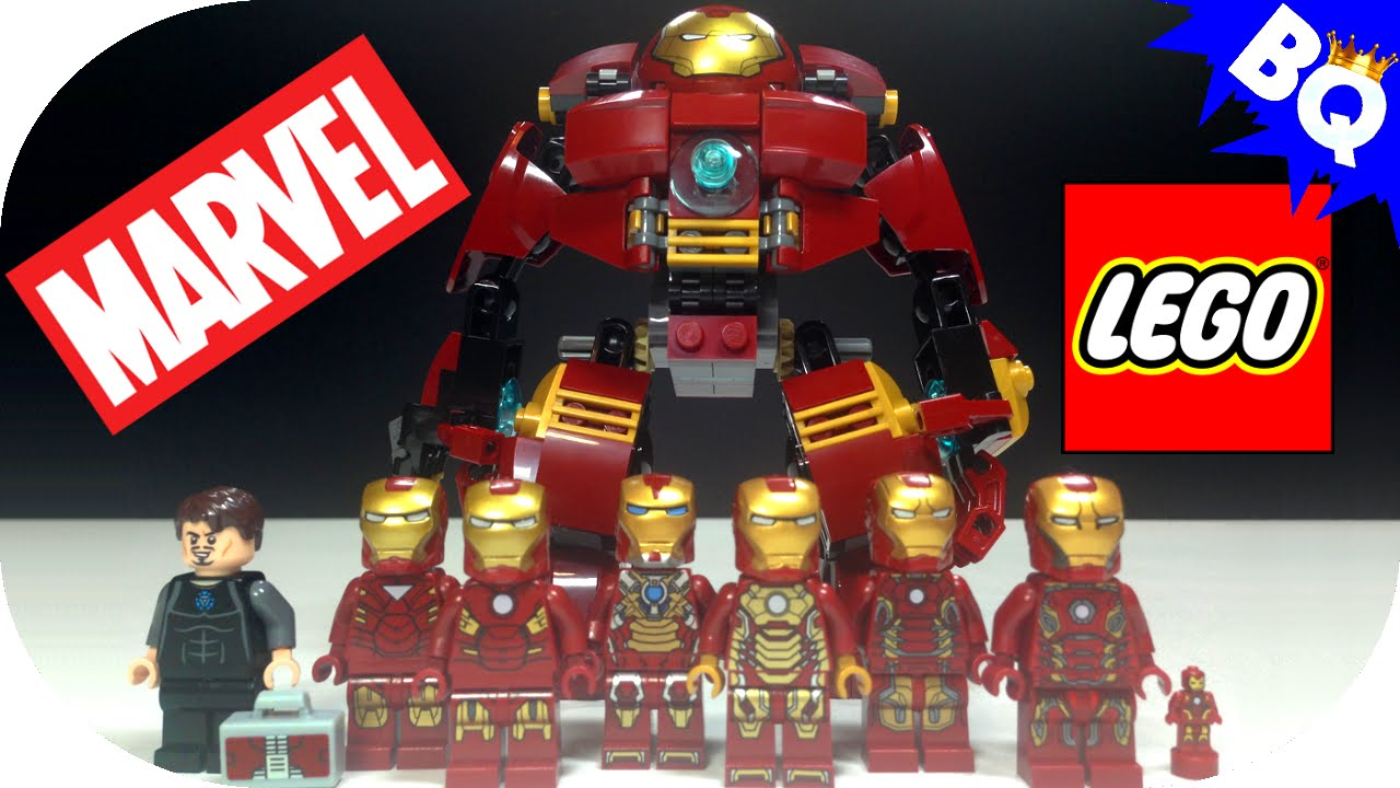 lego iron man marvel minifigure collection brickqueen