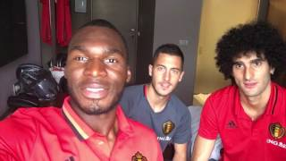 Message from Hazard, Fellaini and Benteke for the Colors of the World! | IFLC 2016 Brussels