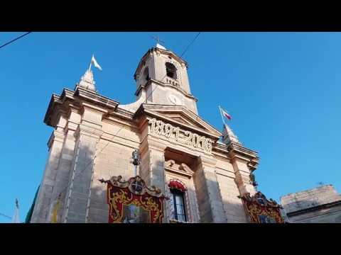 Festa 2016- Translazzjoni bir-relikwa ta' San Ġiljan mill-Knisja Ta' Lapsi sal-Knisja Parrokkjali