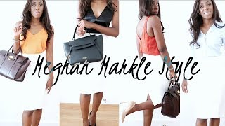 MEGHAN MARKLE INSPIRED SUMMER OFFICE LOOKBOOK - RACHEL ZANE FROM SUITS OUTFITS & H&M HAUL