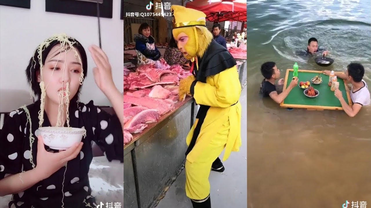 #TikTok Funny Videos 2018 ● Chinese Funny Clips Part 1(Tik Tok China/Douyin)