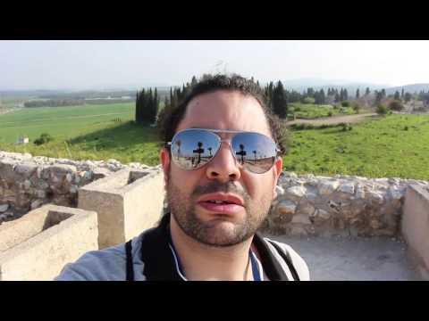 Israel - Holy Land Tour Part 2: Caesarea / Mount Carmel / Megiddo