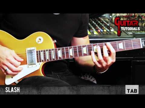 Mr. Brownstone (Guns N' Roses) - Rhythm - Guitar Tutorial with Matt Bidoglia