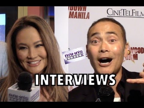 My Interviews with Tia Carrere and Mark Dacascos at 'SHOWDOWN IN MANILA' Premiere
