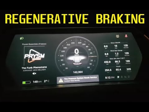 TESLA Regenerative Braking