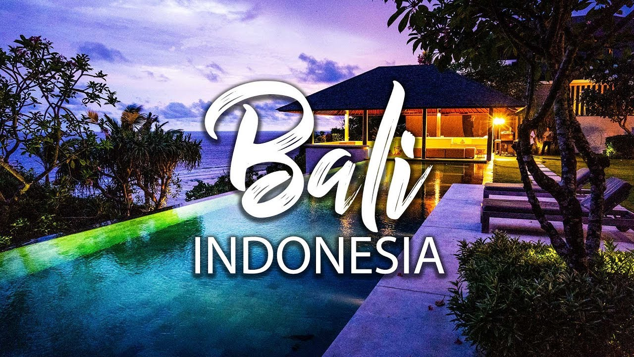 Insanely Beautiful Paradise Villa In Bali Authentic Balinese Food Youtube