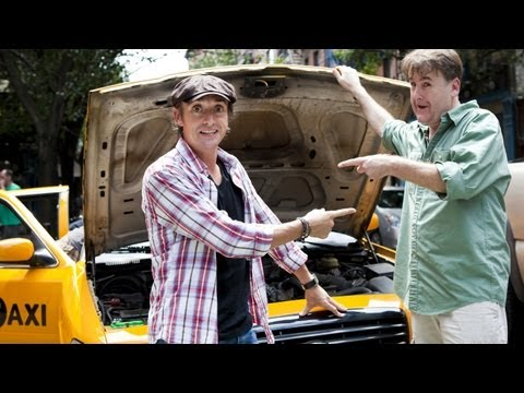 Richard Hammond Drives NYC Cab - CRASH COURSE Sneak Peek NEW BBC America