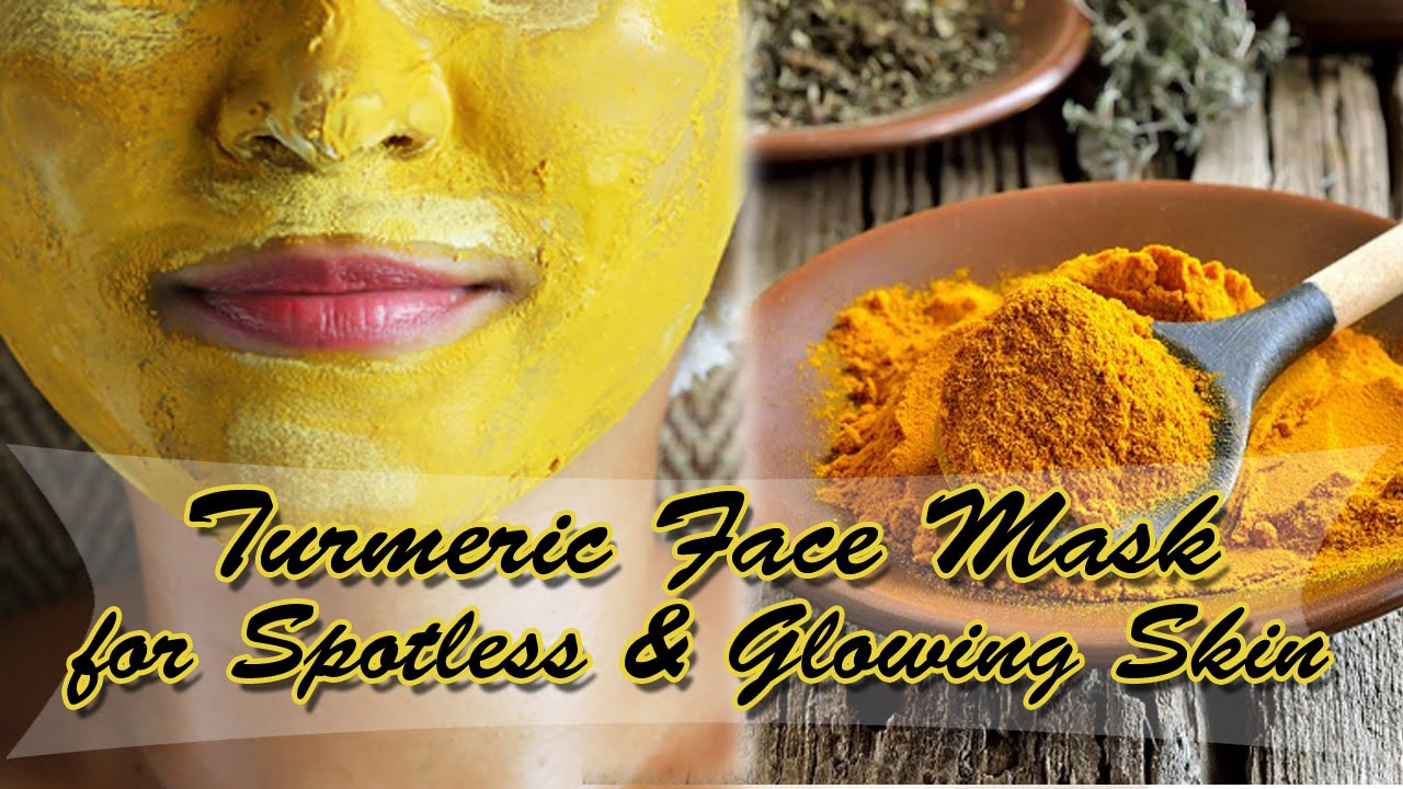 Turmeric Face Mask for Spotless & Glowing skin / Beauty Benefits ...