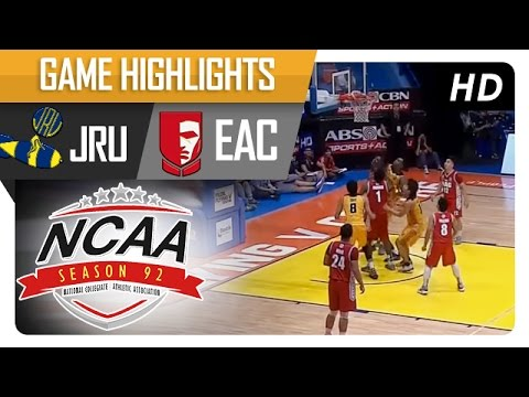 JRU vs EAC | Game Highlights | NCAA 92 - July 21, 2016