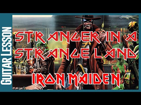 Stranger In A Strange Land By Iron Maiden - Guitar Lesson