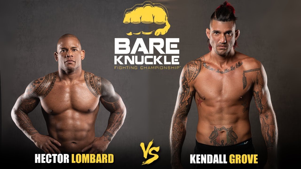 Hector Lombard vs. Kendall Grove | BKFC 12
