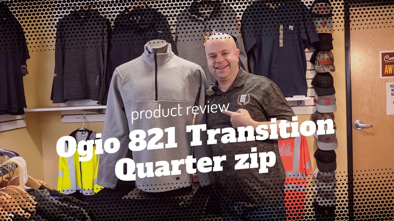 Ogio 821 Transition 1/4 zip