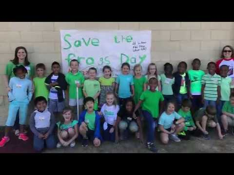 Mrs. Granger's C1 Family: Save the Frogs Day! 2017 Pike Road Schools