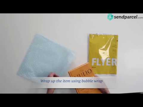 Parcel packaging: How to pack your items using DHL envelope - Sendparcel