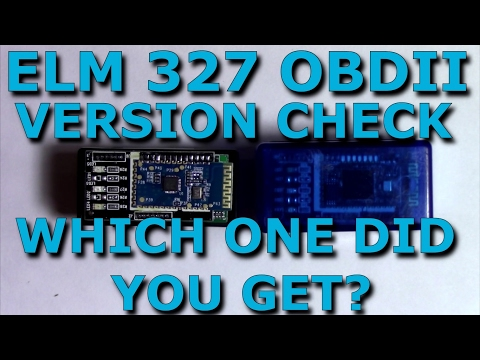 Mini Elm 327 Bluetooth OBD/OBD2 Version Check & Install On Android