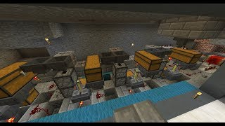 Qc minecraft s1 episode 2 enclos cheval automatique for Porte 3x3 minecraft