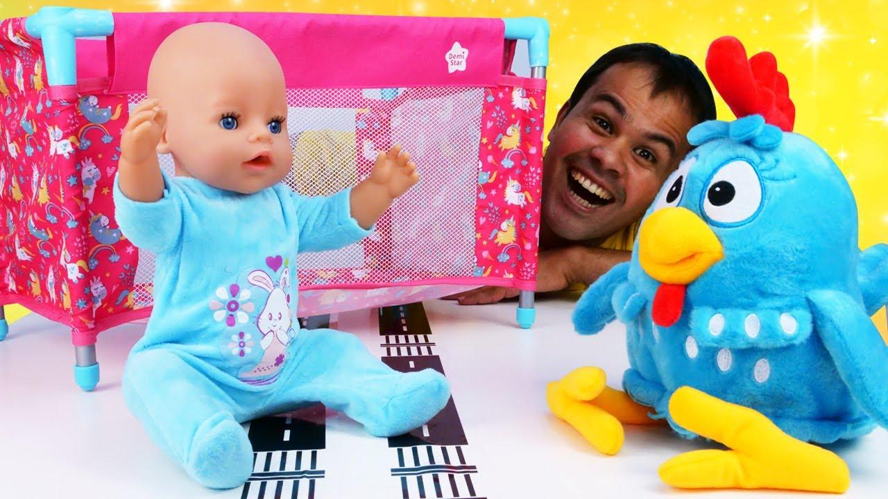 O novo cercadinho para o bebê Luizinho! Aprendendo a ser papai com a Galinha Pintadinha