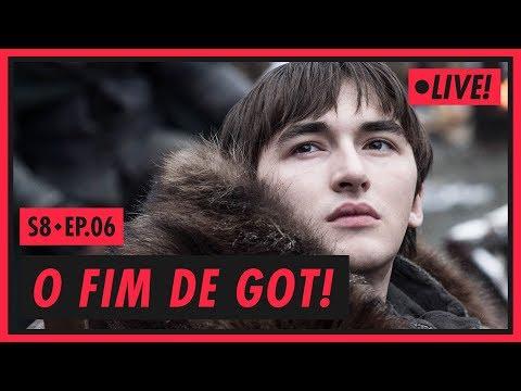 O FIM DE GAME OF THRONES - S08E06 להורדה