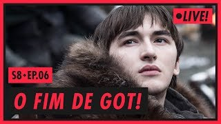 O FIM DE GAME OF THRONES - S08E06