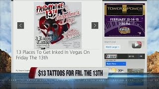 13 Places To Get Inked In Vegas On Friday The 13th