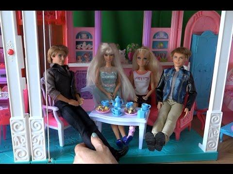 Видео с куклами Барби Жизнь в доме мечты, серия 414 Челси ...