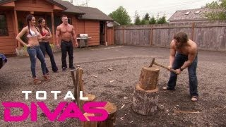 the bellas challenge daniel bryan and john cena total divas aug 4 2013