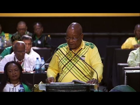 Zuma admits S.Africans 'not happy' with ruling ANC party