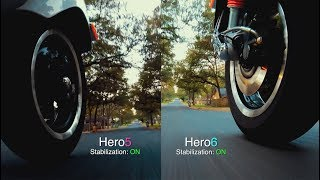 GoPro Hero6 STABILIZATION Comparison on SCOOTERS (with Hero5) GoPro Tip #599 | MicBergsma